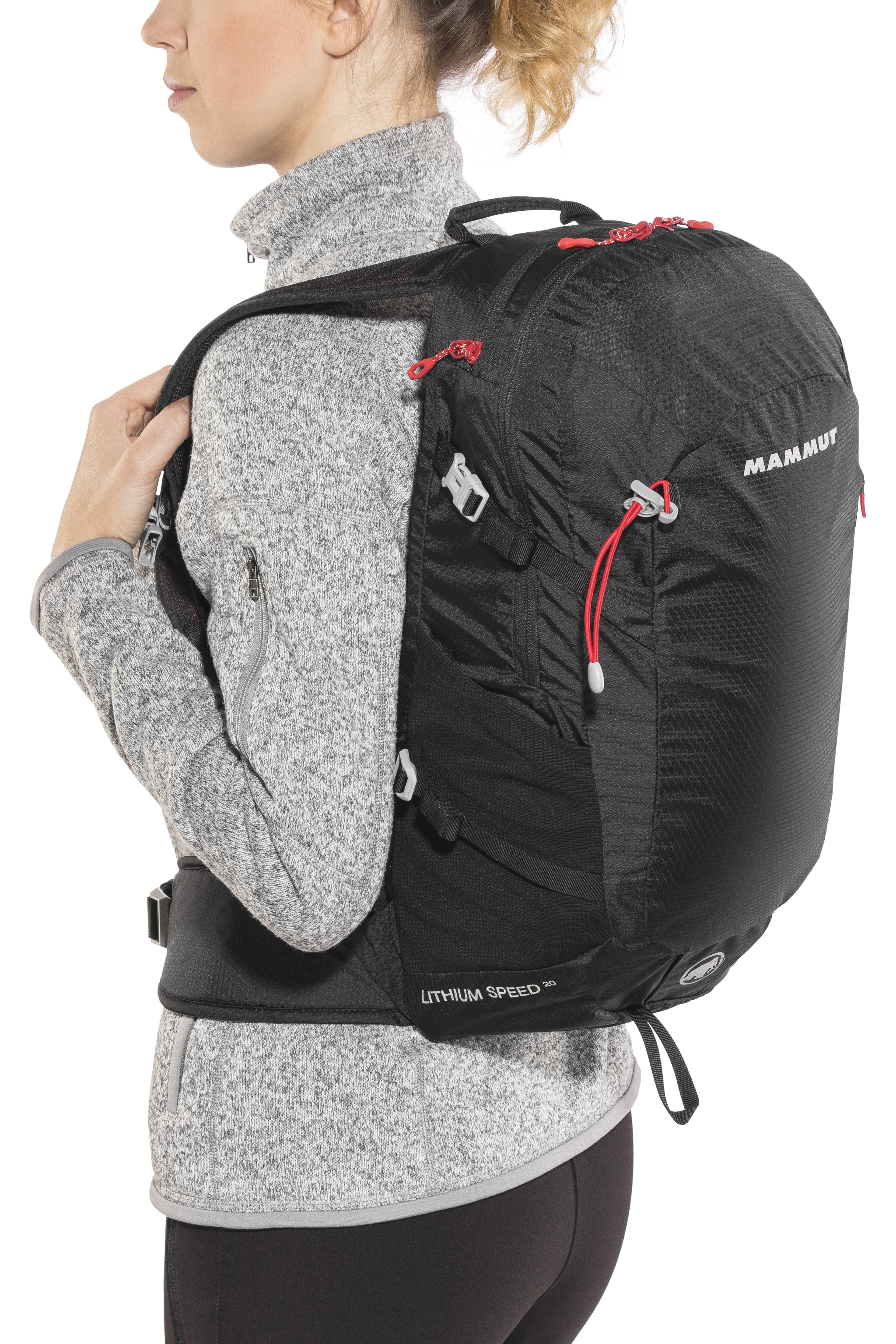 18f7aba45f558 Mammut Lithium Speed Backpack 20l black at Addnature.co.uk
